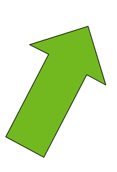 Arrow pointing up and to the right