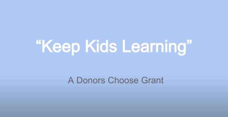 Kids Keep Learning