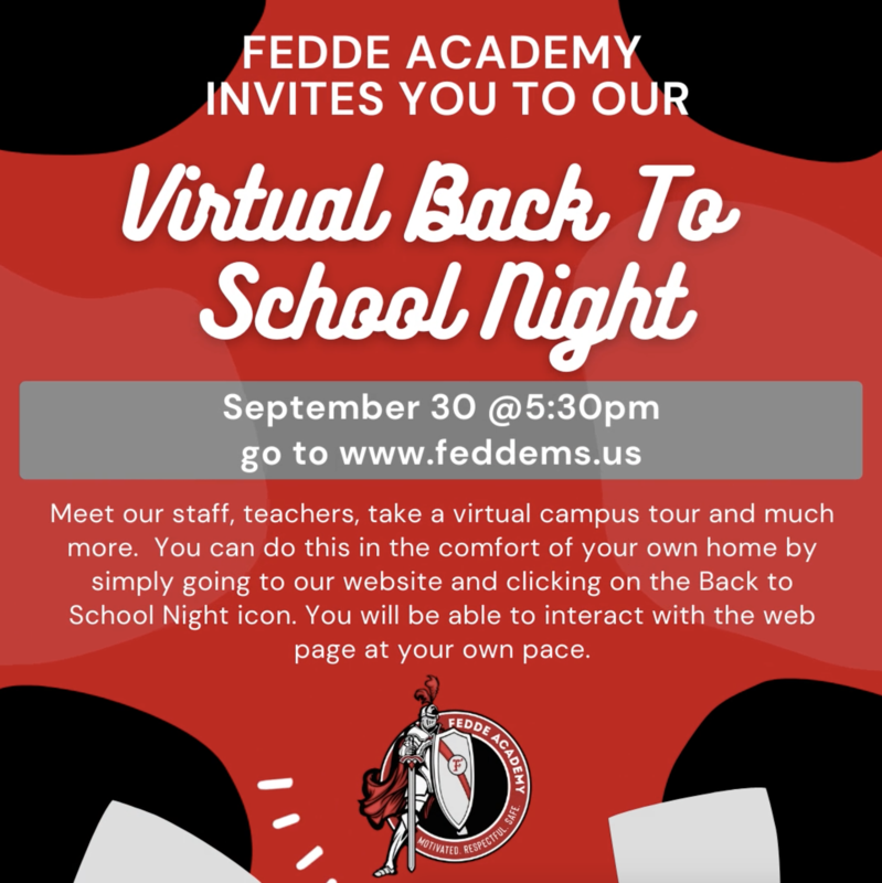 BACK TO SCHOOL NIGHT
