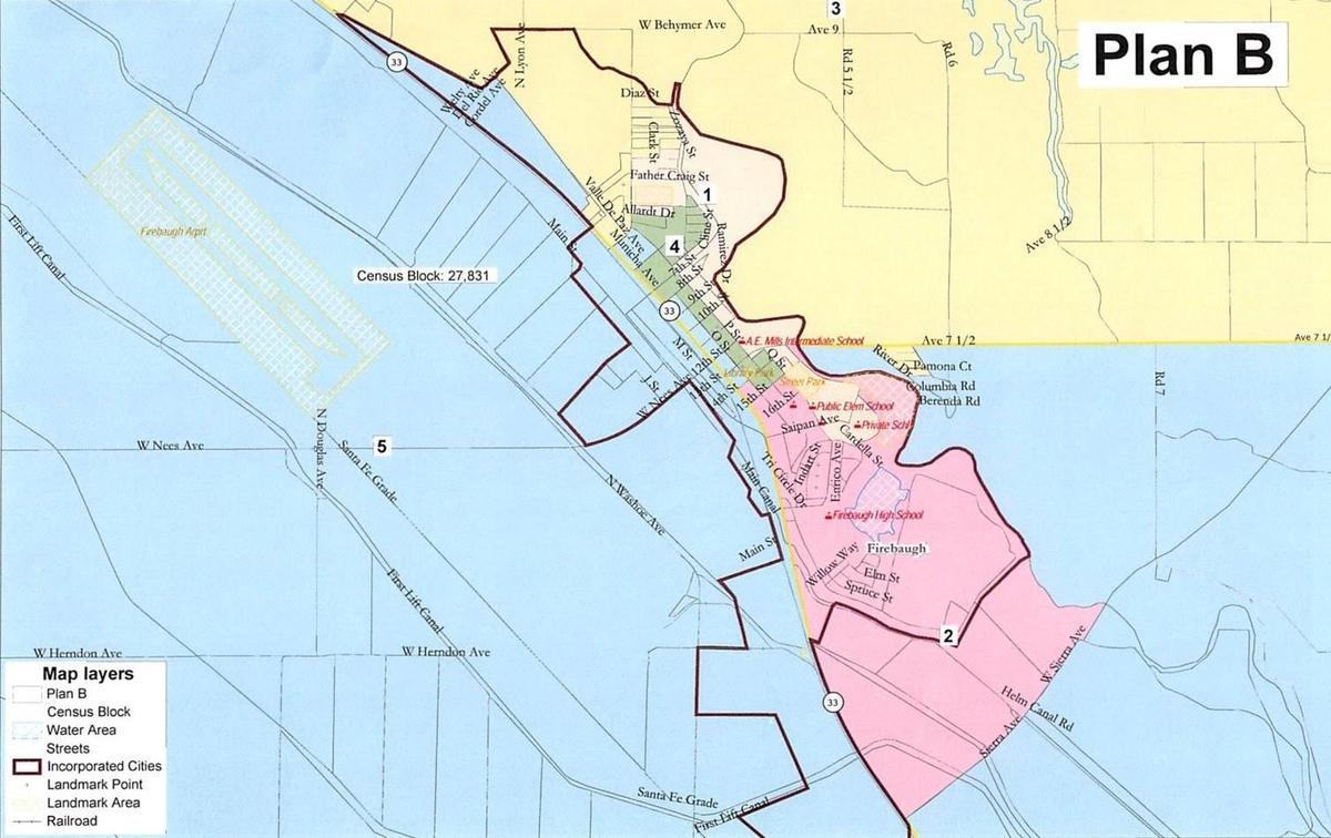 Trustee Area Map