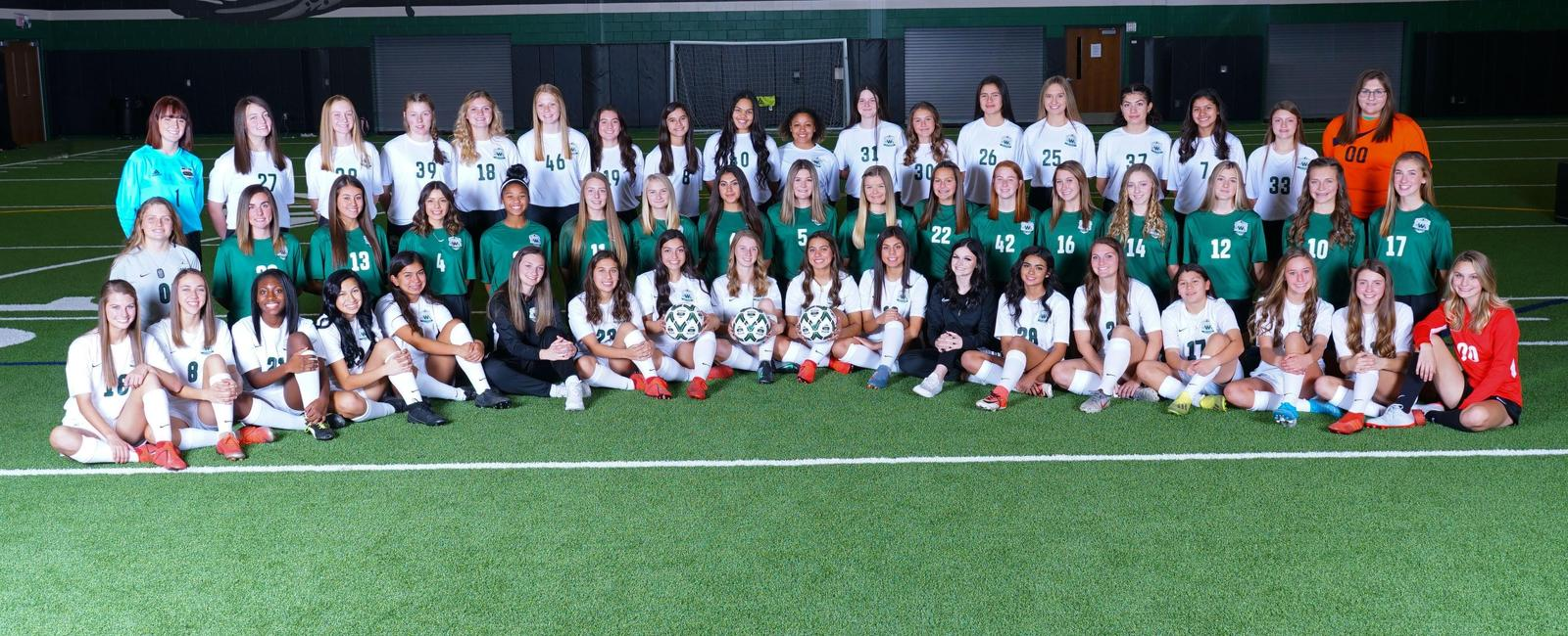 Lady Indian Soccer teams official picture