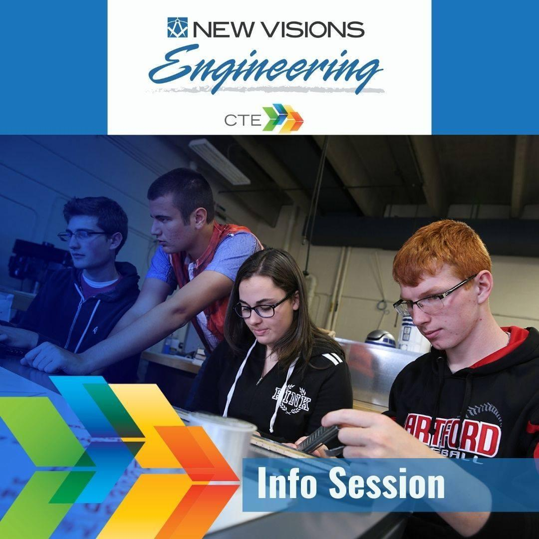 New Visions Eng Info Session Button