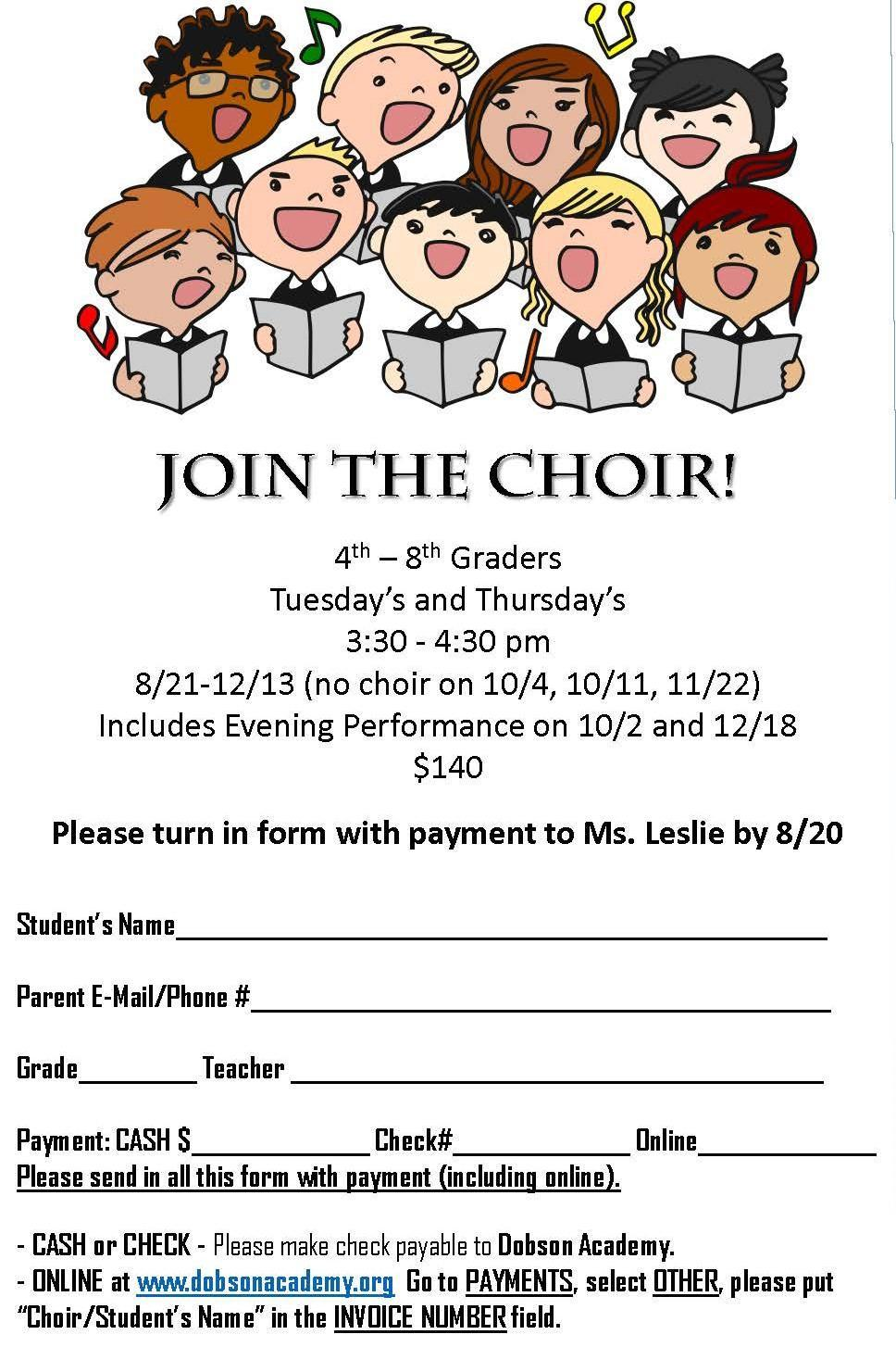Join the choir