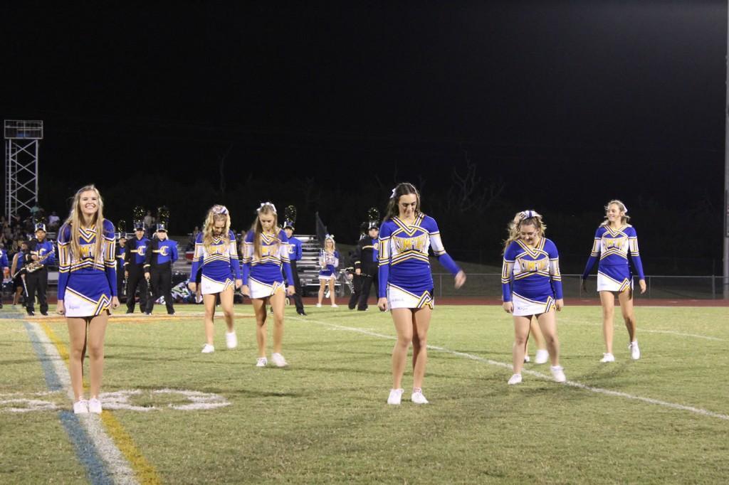Homecoming 2016 CHS Cheerleaders