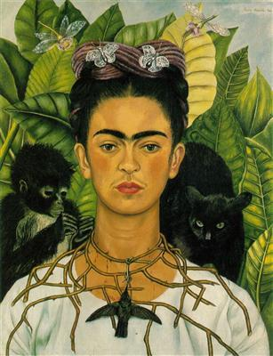 Frida Kahlo Self Portriat
