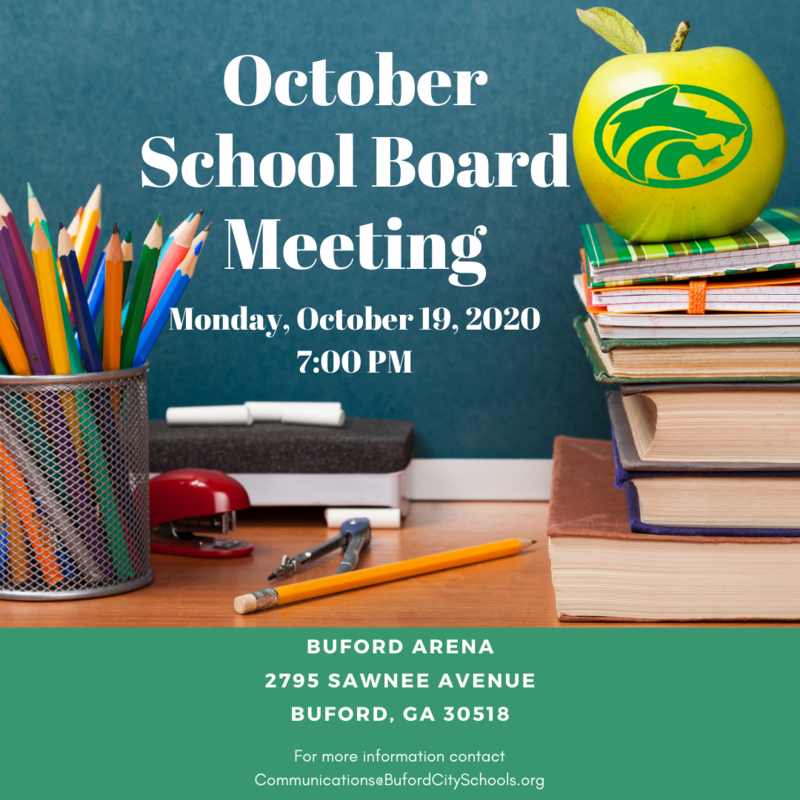 October 2020 School Board Meeting
