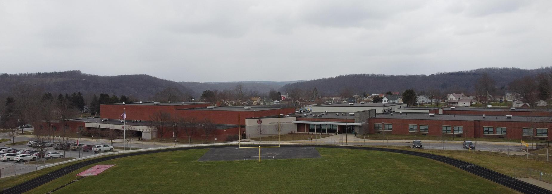 Saltsburg Middle High School Entrance 2