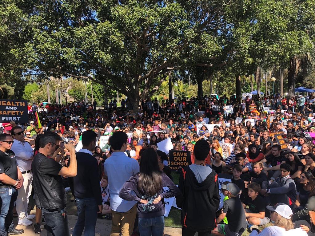 BHUSD Students' Community Walkout