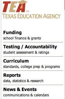 TEA Report Card Information