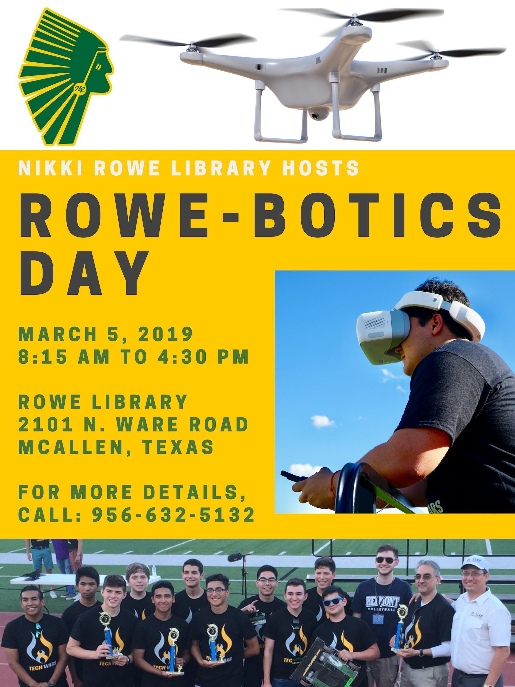 Rowebotic Day