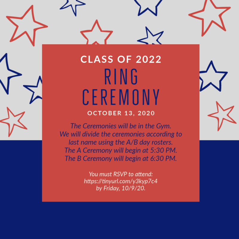 Class of 2022 Ring Ceremony Featured Photo