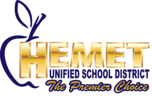 Hemet Unified's logo