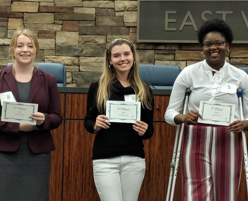 BHS Students at Speech Contest Featured Photo