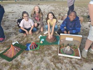 5th Grade Volcano Projects