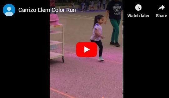 Carrizo Elementary Color Run Featured Photo