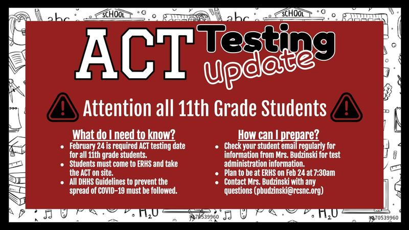 ACT Testing Information for Juniors