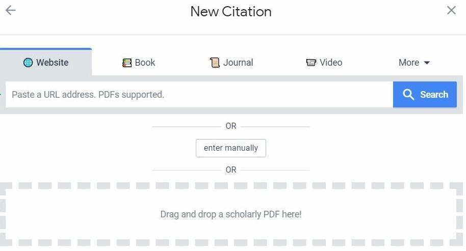 Create a citation