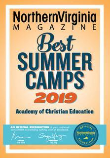 Northern Virginia Magazine Best Summer Camps 2019