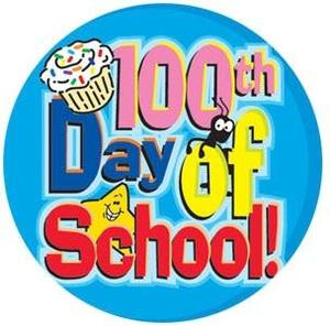 100 day of School image