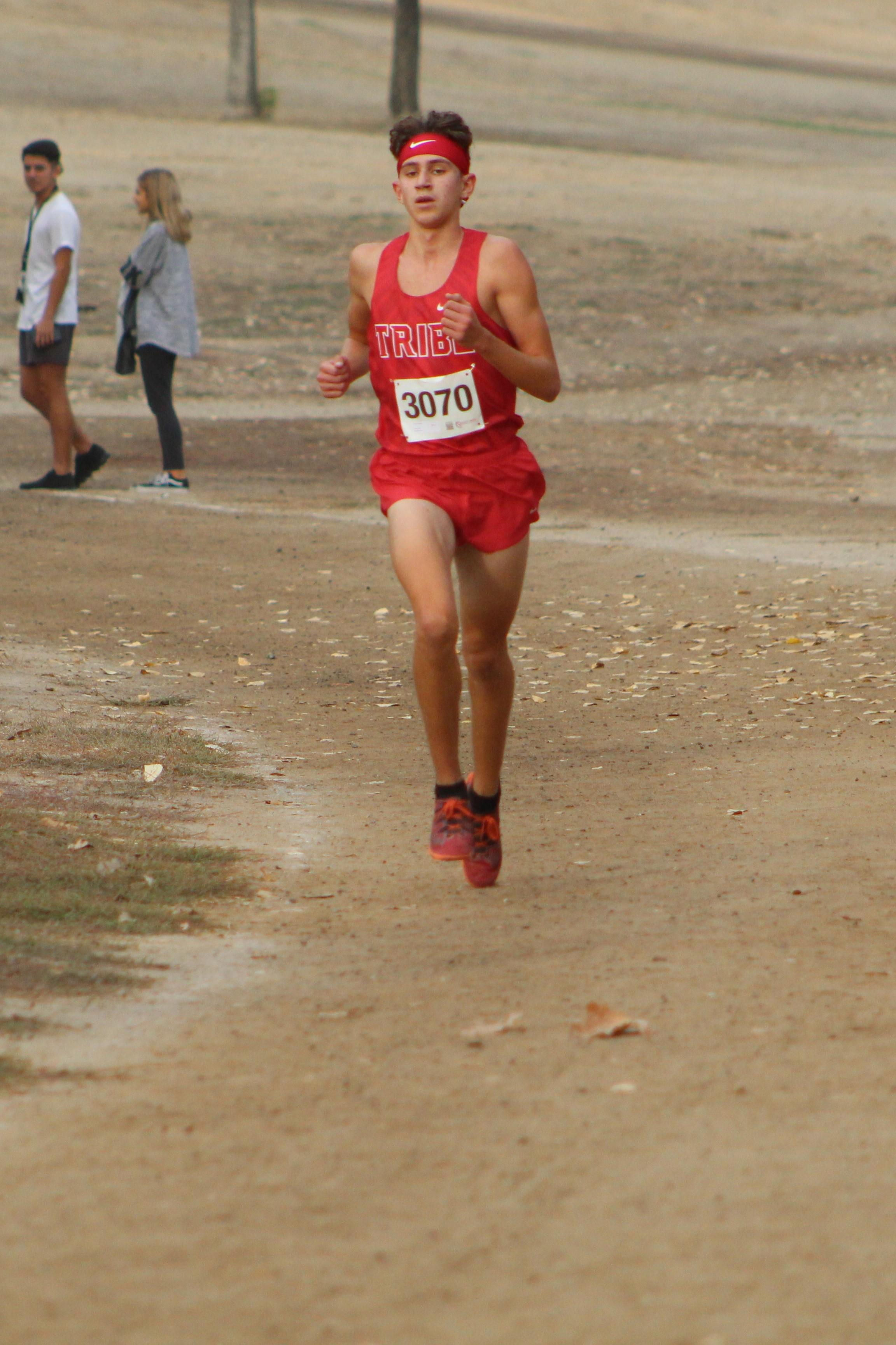 Connor Borba Leads the race