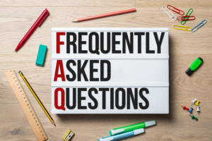 Frequently Asked Questions sign