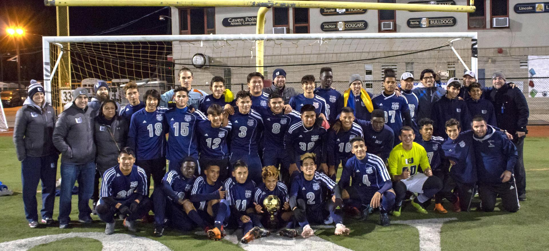 Boy Soccer Hudson County Champs