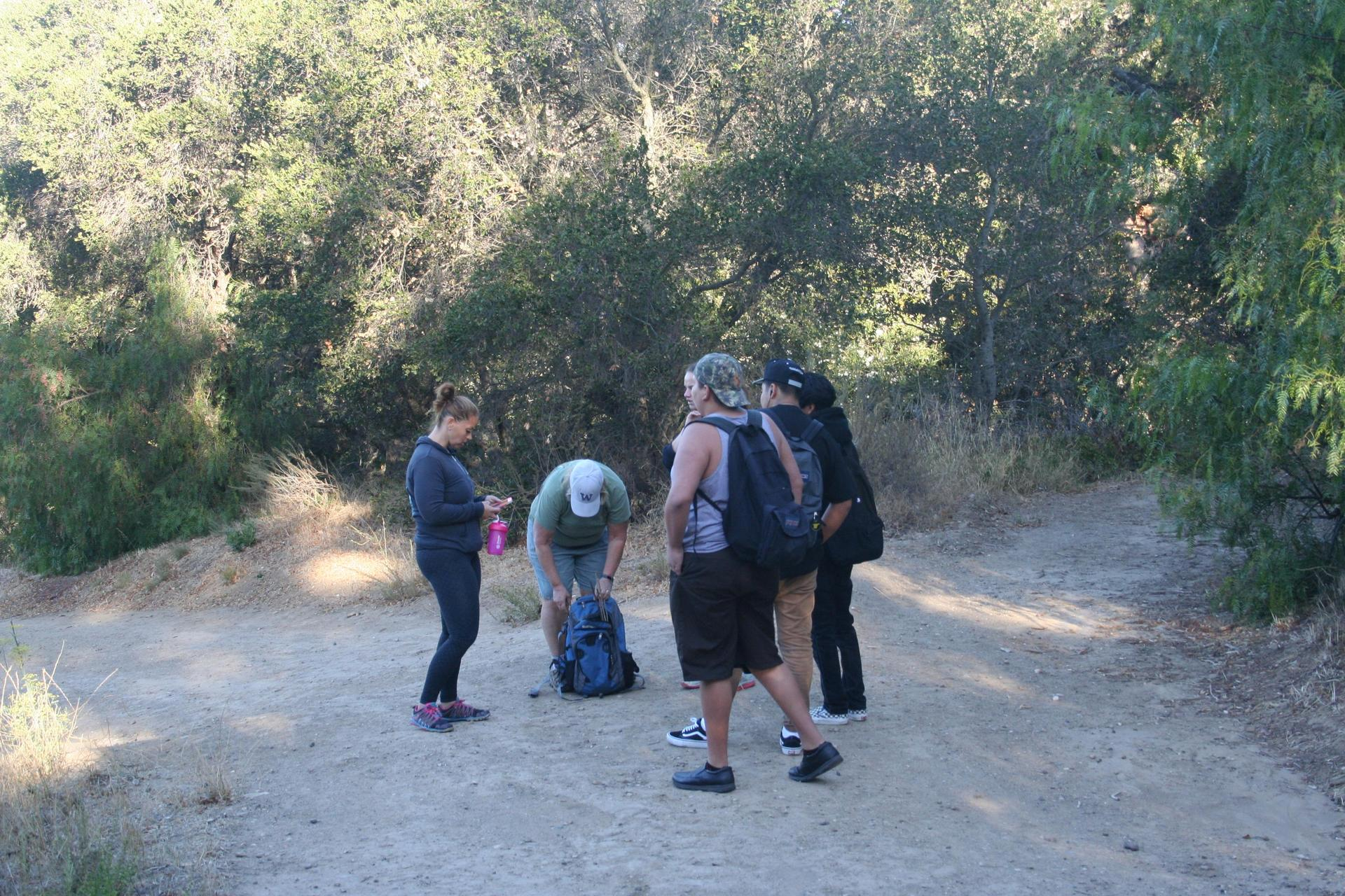 About to hike Gaviota Peak
