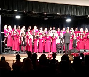 What a wonderful Winter Choral Concert! We are proud of all of our River Hawk students who sang their hearts out!