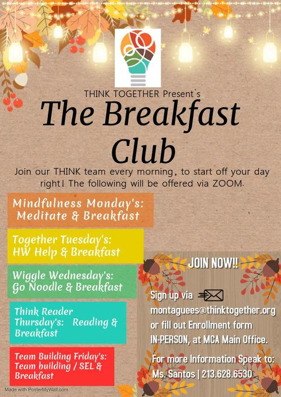 Breakfast Club Presented by Think Together Featured Photo