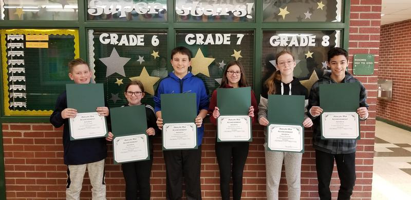 RMS STUDENTS OF MONTH FOR DECEMBER Featured Photo
