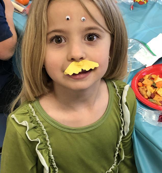 Celebrating Dr. Seuss with 1st grade!