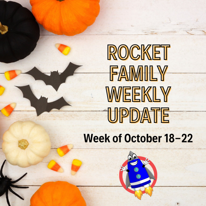 Rocket Family Weekly Update: October 18-22 Featured Photo