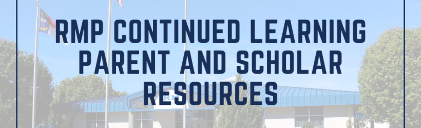 Parent and Scholar Resources