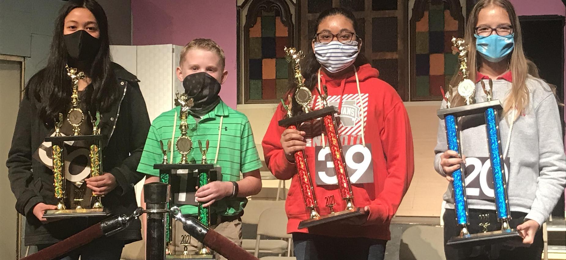 LCSD Spelling Bee Winners