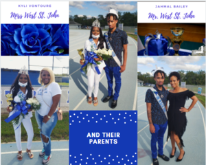 Mr and Miss WSJH with their parents