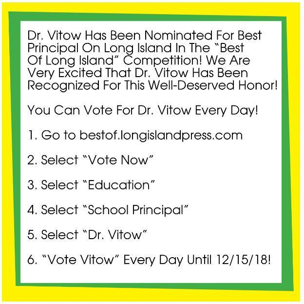 Dr Vitow Nominated For Best Of Li Principal 2019 Cast Your Vote