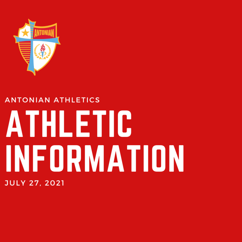 July 27 | Antonian Athletics Information Featured Photo