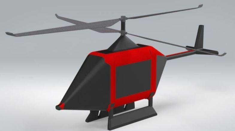 Xavier's Helicopter-Style Drone