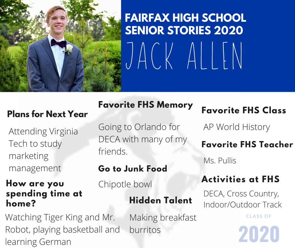 Jack Allen photo and list of activities