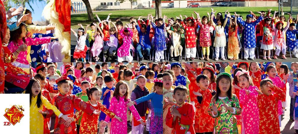 DeMille celebrates TET festival with performances from the Dual Language Program students.