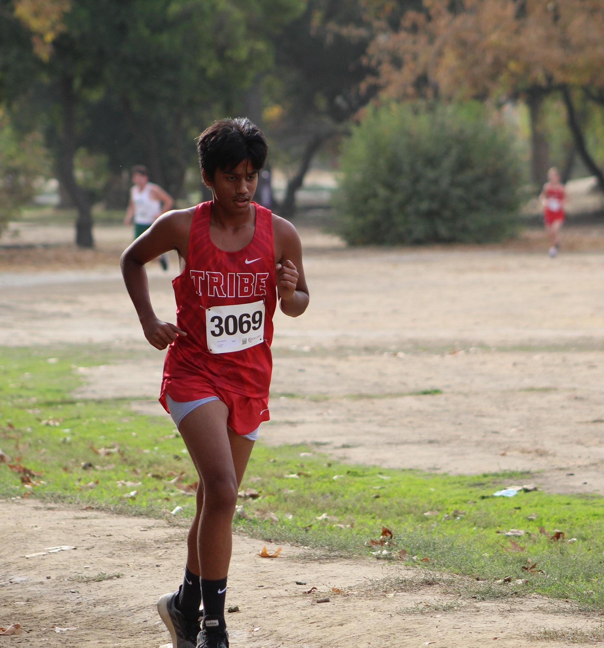 Suneet Bhardwaj running