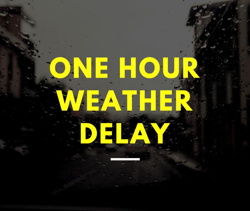 TSDN one-hour delay Mon 2/22