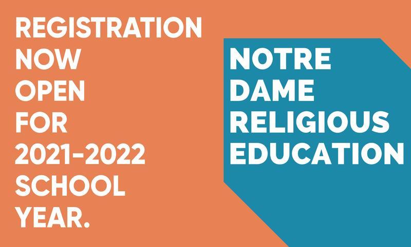Register for Religious Education Thumbnail Image