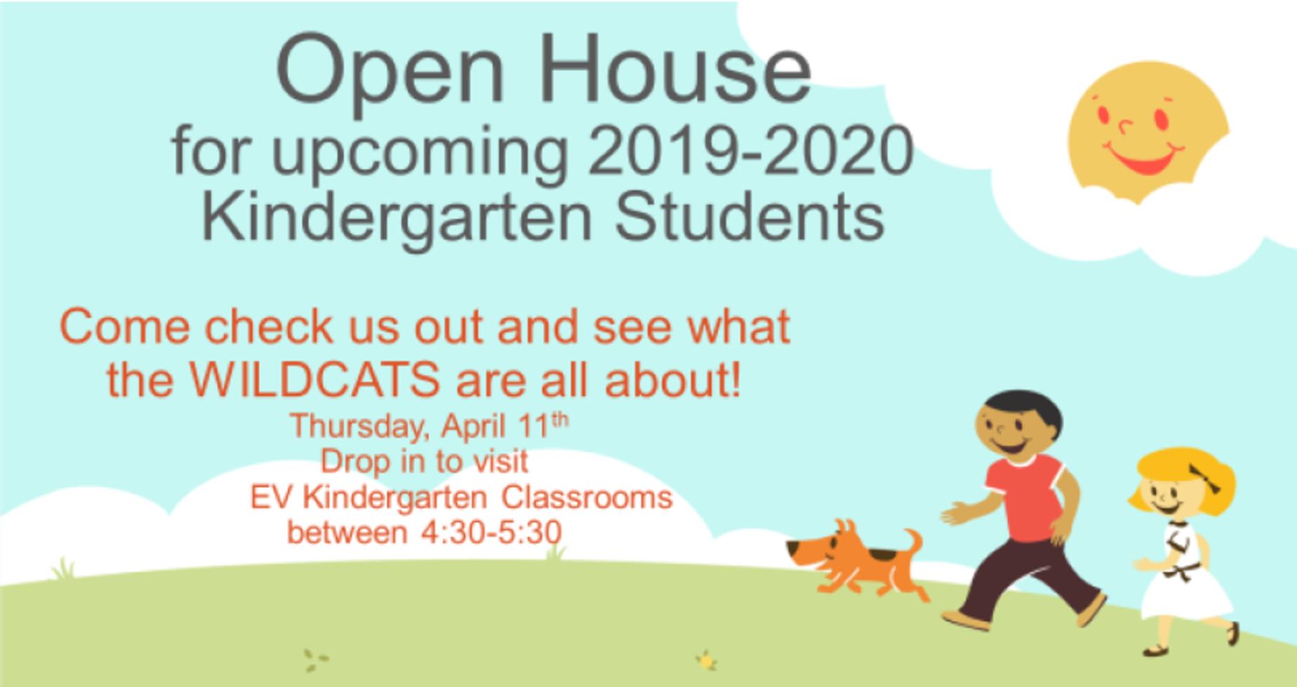 Open House Invitation