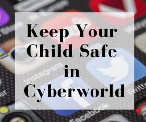 Keep your child safe in cyberworld with photo of apps