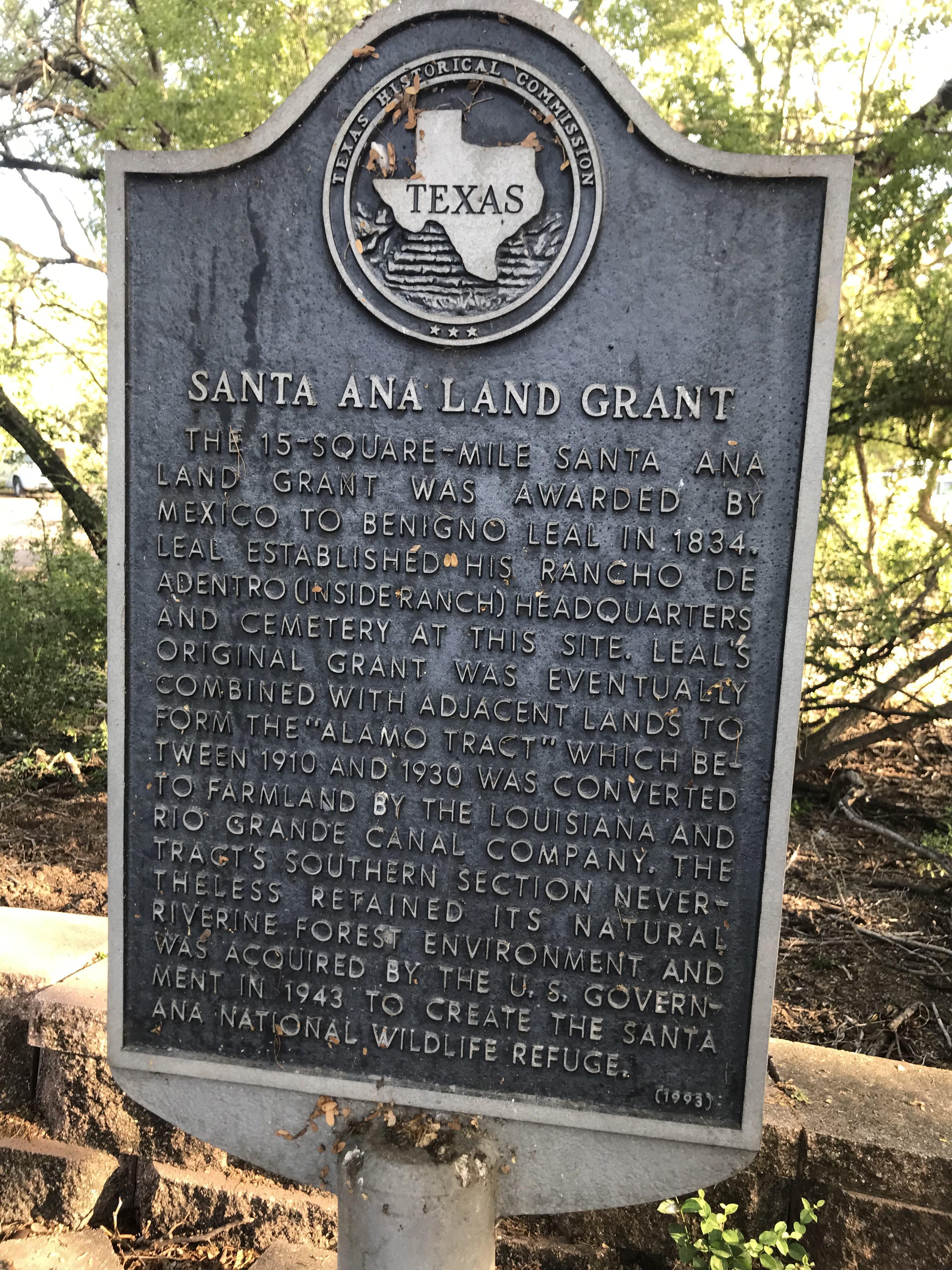 Santa Ana Land Grant