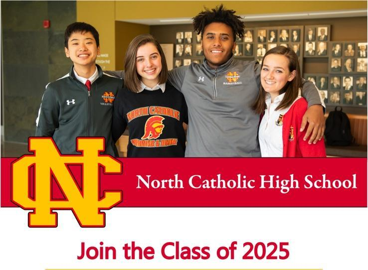 North Catholic High School Placement Test