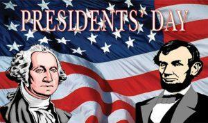 Picture of presidents Washington and Lincoln