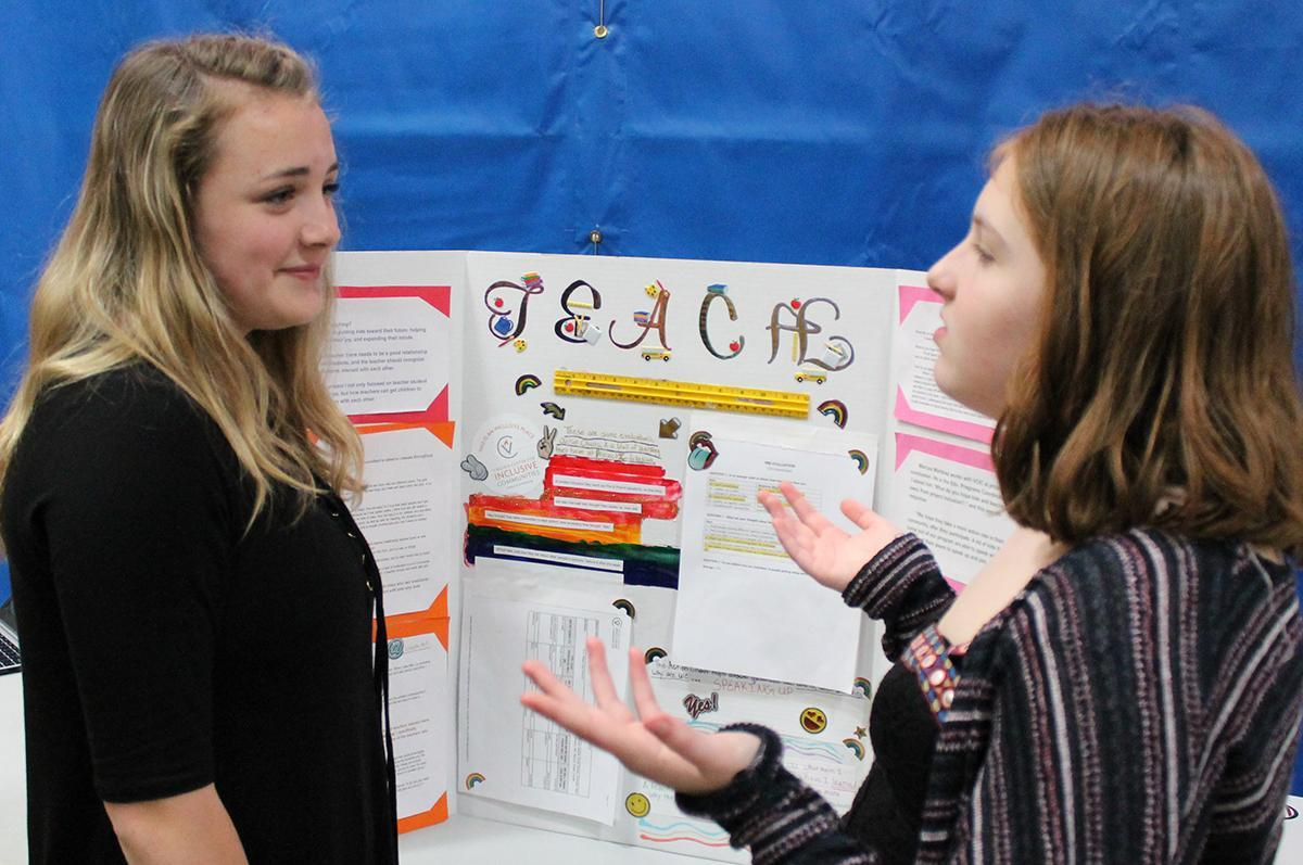 eighth grade career shadowing exhibit