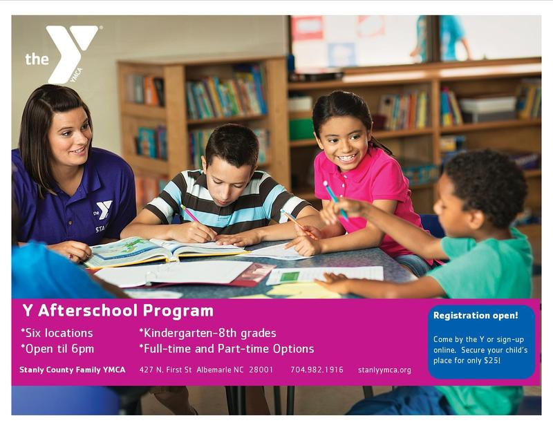 Stanly County Family YMCA ·  Afterschool registration is now open!! Featured Photo